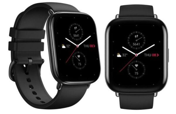 Amazfit xiaomi smartwatch zeep e zepp e square onyx black