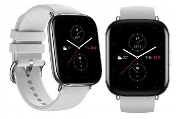 Amazfit xiaomi smartwatch zeep e zepp e square  pebble grey