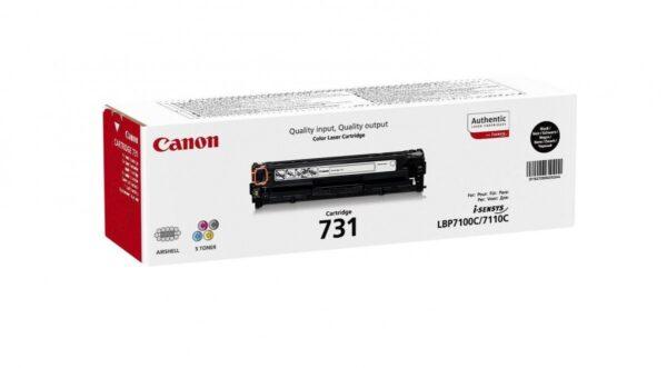 Canon toner crg 731bk black 6272b002