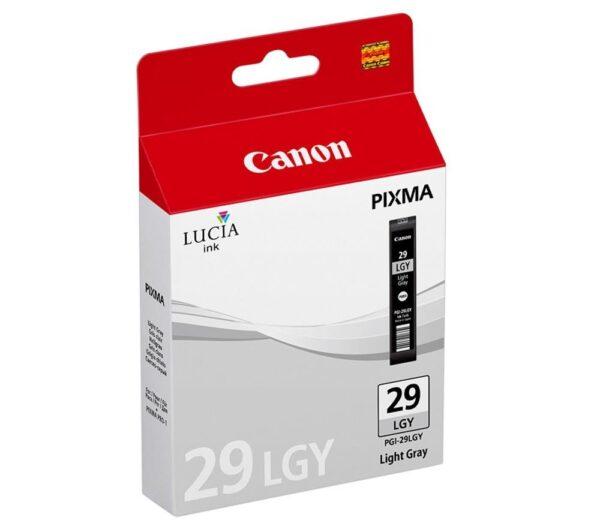 Canon tusz pgi-29lgy jasny szary 4872b001