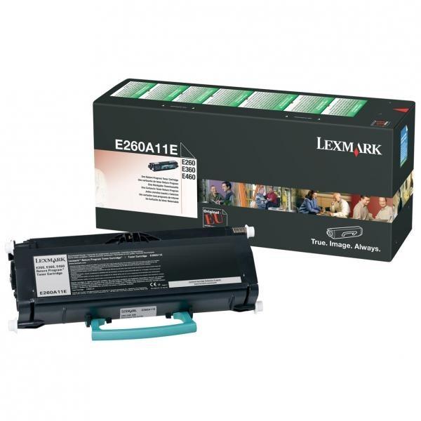 Lexmark oryginalny toner e260a11e